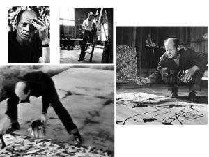 Pollock: espontaneidade ou intenção crítica?